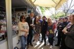Puig anima els valencians i valencianes a visitar la Fira del Llibre i gaudir de 'l'experiència positiva' que aporta el contacte amb llibres i autors.