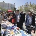 Puig asiste a las XXX Trobades d'Escoles en Valencià.