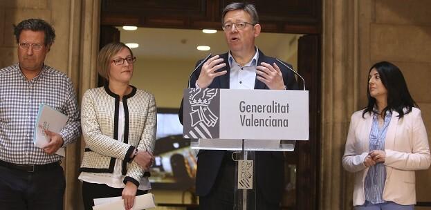 Puig ha defendido la transición de las ATE, que ha calificado como un 'absoluto fracaso', a los Proyectos de Inversiones Estratégicas Sostenibles (PIES) .