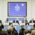 Ribó defiende ante la FAO la agricultura urbana y periurbana como fuente de alimentación e invita a los alcaldes de las grandes ciudades a la cumbre de València.