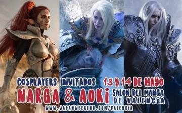 Salón Manga VLC 2017-05 cosplayers rusos