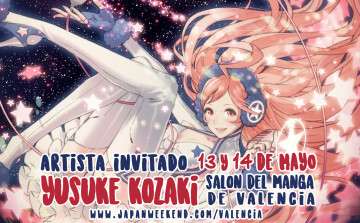 Salón Manga VLC 2017-05 invitado yusuke-kozaki