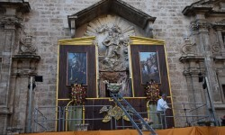San Vicente Ferrer en el Altar del Mercat Valencia (2)