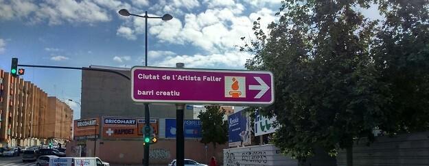 También se señalizarán las rutas para llegar al Museo Fallero de València.