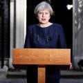 Theresa May anunció la convocatoria de elecciones anticipadas en el Reino Unido para el 8 de junio.