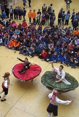 Una de las jornadas de la pasada Trobada de Folclore en la Beneficència.