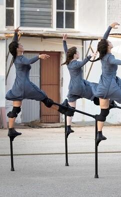 Una de las obras presentes en el Festival Dansa València.