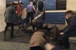 Una explosión en una estación de metro de San Petersburgo deja al menos 10 muertos.