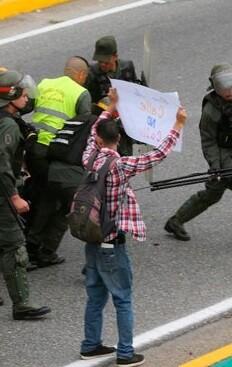 Venezuela vivió una ola de violencia durante varios días.