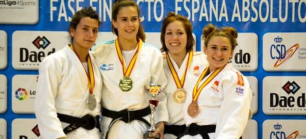 Ana Pérez, medalla de plata 52Kg.