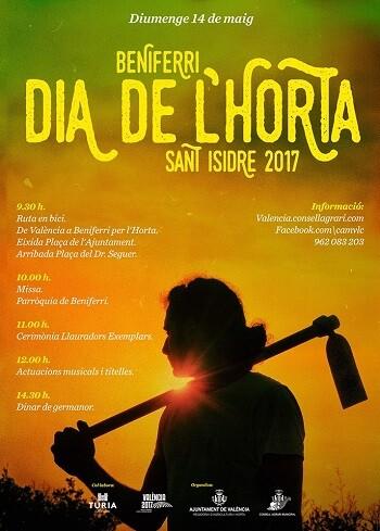 Cartel del Dia de l'Horta.