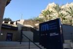 Cata de aguas en el Museo de Aguas de Alicante.