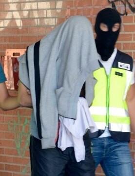 Detención de un miembro de DAESH. (Imagen de archivo).