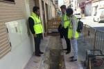 El Ayuntamiento de Guardamar e Hidraqua mejoran las redes de agua potable en las calles Miguel Hernández y San Emigdio.