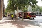 El Ayuntamiento realiza con éxito un simulacro de incendio en el edificio de Tabacalera.