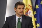 El Congreso reprueba al ministro de Justicia Rafael Catalá.