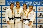 El Valencia Club de Judo acumula medallas en el campeonato nacional de Judo Absoluto.