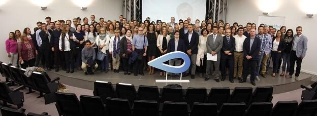 El acto de presentación contó con la participación de Pablo Pineda, actor y primer diplomado europeo con Síndrome de Down.