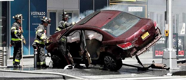 El condutor iba ebrio.