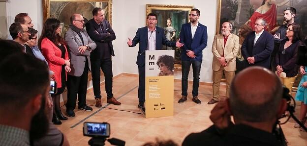 El presidente, Jorge Rodríguez, inaugura la exposición 'Memoria de la Modernidad'.