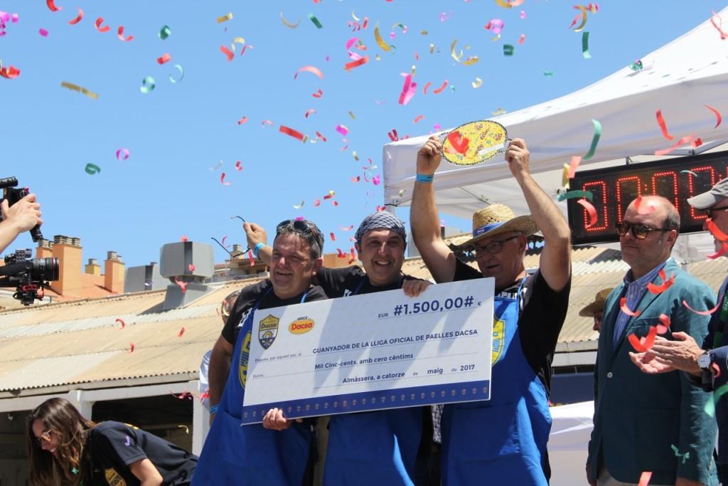 Ganador Liga Paellas Dacsa 1