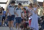 Gina, Pitita, y Greta encuentran un hogar en el 10º desfile AUPA y BIOPARC Valencia.