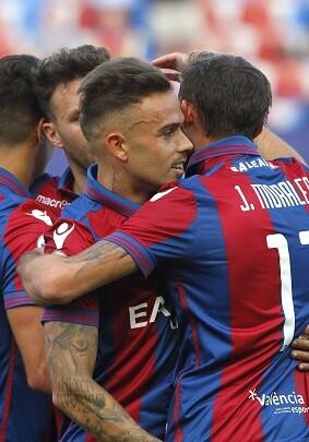 Gran victoria del Levante UD.