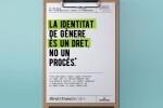 Igualdad lanza una campaña sobre el derecho a la identidad de género.