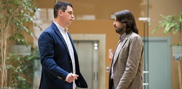 Ivan Martí se reune con diputado delegado de urbanismo de Cataluña. (Foto-Abulaila).