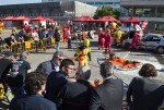 Jorge Rodríguez destaca que la formación de los Bomberos en técnicas de rescate es clave para salvar vidas. (Foto-Abulaila).