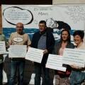Josep Bort, Xavier Rius, Enric Morera, Maria Josep Amigó i Imma Cerdà al photocall de la Diputació de València_1