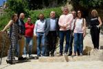 La Diputación mejora la accesibilidad de la Cova en Gomar de Bocairent.