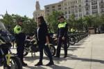La Policía Local amplía su parque móvil con 25 nuevas motocicletas que refuerzan el servicio de la Unidad de Tráfico.