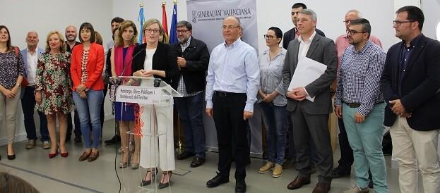 La consellera ha anunciado el compromiso de la Generalitat de elaborar un documento sobre los accesos necesarios para cuando se liberalice esta infraestructura.