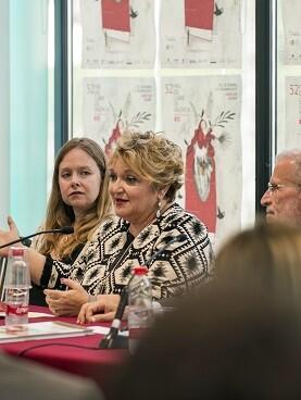 La diputada de Educación, Salud y Bienestar Social, Mercedes Berenguer.