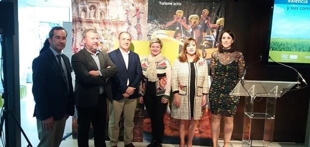 La presentación fue la antesala de la inauguración hoy del certamen turístico Expovacacions 2017 en el Bilbao Exhibition Centre (BEC).