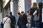La tasa de desempleo en la eurozona se mantiene en el 9 por ciento, la mitad que en España