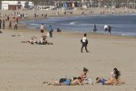 Las playas urbanas de València consiguen por segundo año consecutivo la bandera azul.