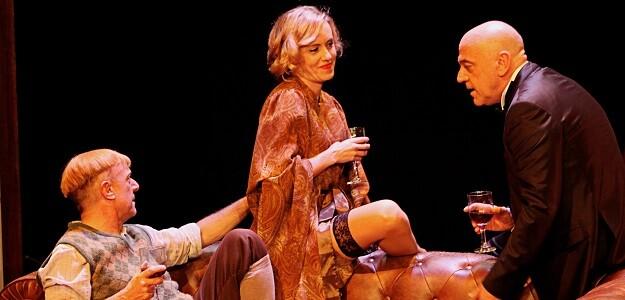 Los actores de 'Shakespeare en Berlín'.