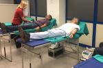 Los empleados de Aguas de Alicante e Hidraqua donan sangre a través del Centro de Trasfusiones de la Generalitat.