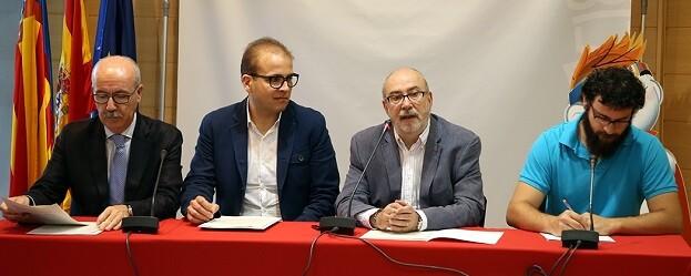 Manuel Alcaraz, en rueda de prensa.