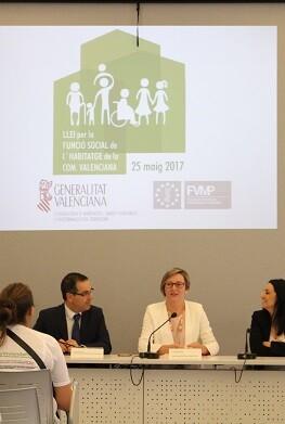 María José Salvador, consellera de Vivienda, Obras Públicas y Vertebración del Territorio.