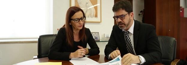 Maria Josep Amigó y Emili Altur.