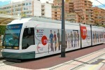 Metrovalencia ofrecerá este martes servicios mínimos del 70 por ciento en los paros parciales convocados en el tranvía.