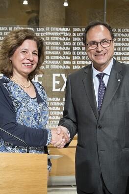 Pilar Blanco-Morales y Vicent Soler.