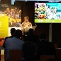 Pilar Moncho presenta territorio y gastronomía local en Bilbao con el programa 'Del tros al plat' de València Turisme.