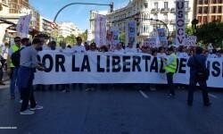 Por la libertad de enseñanza manifestación en Valencia de educación concertada con la supresión de conciertos 20170506_172849 (14)