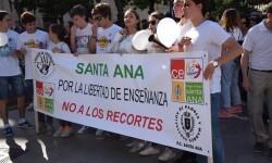 Por la libertad de enseñanza manifestación en Valencia de educación concertada con la supresión de conciertos 20170506_172849 (150)