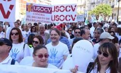 Por la libertad de enseñanza manifestación en Valencia de educación concertada con la supresión de conciertos 20170506_172849 (183)