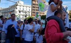 Por la libertad de enseñanza manifestación en Valencia de educación concertada con la supresión de conciertos 20170506_172849 (19)